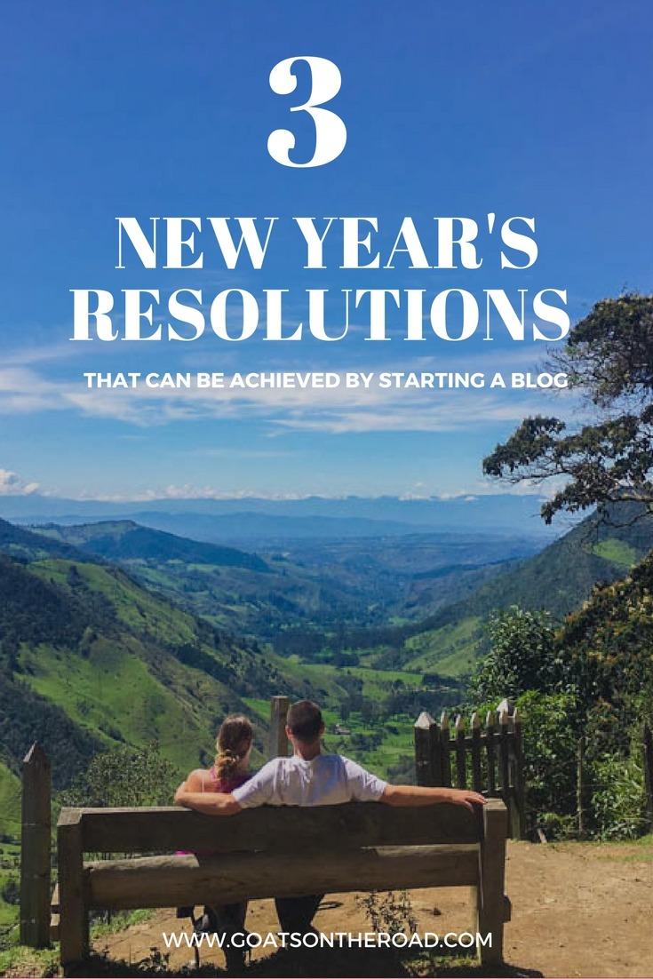 3 New Year's Resolutions That Can Be Achieved By Starting a Blog