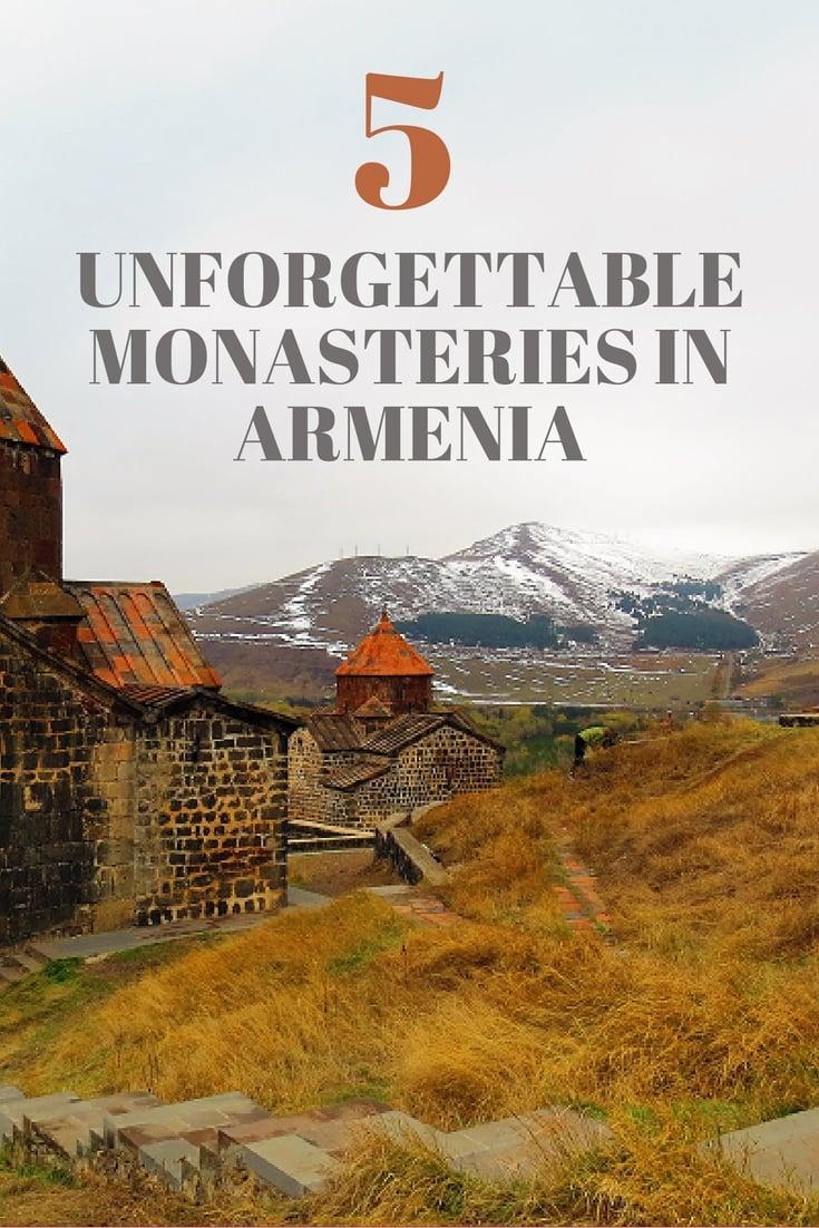 5 Unforgettable Monasteries in Armenia