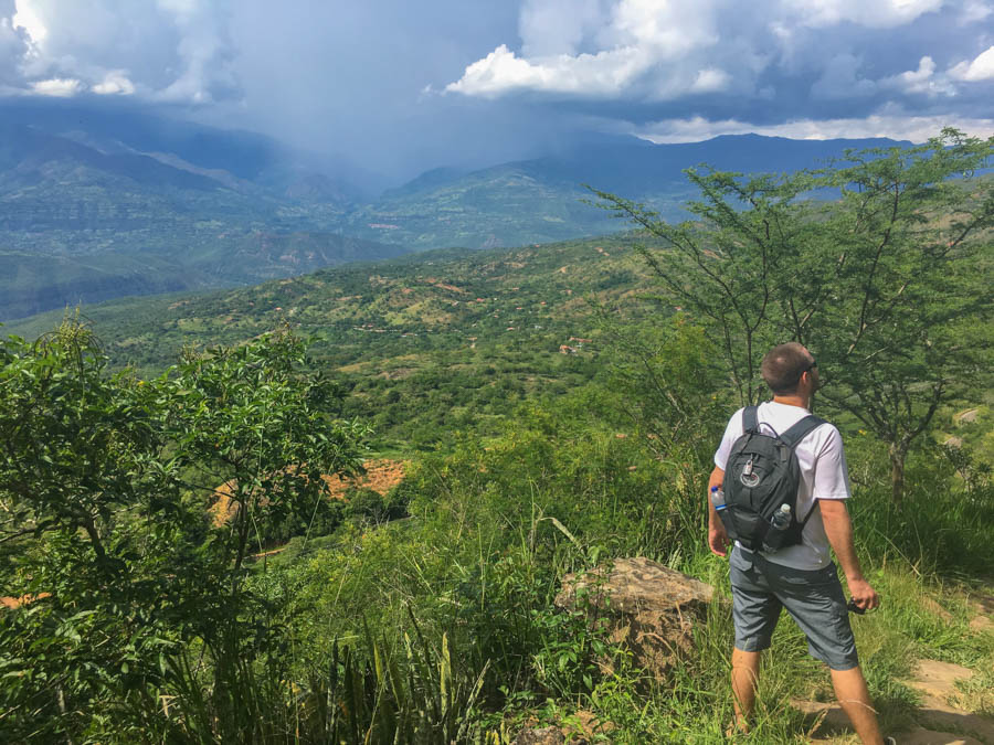 hike from Barichara to Guane is one of the cool things to do in San Gil colombia