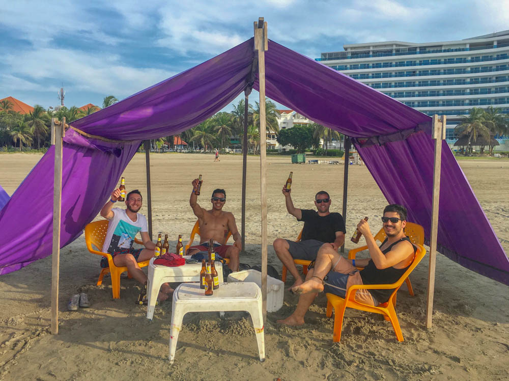 Cartagena Travel Beach Day