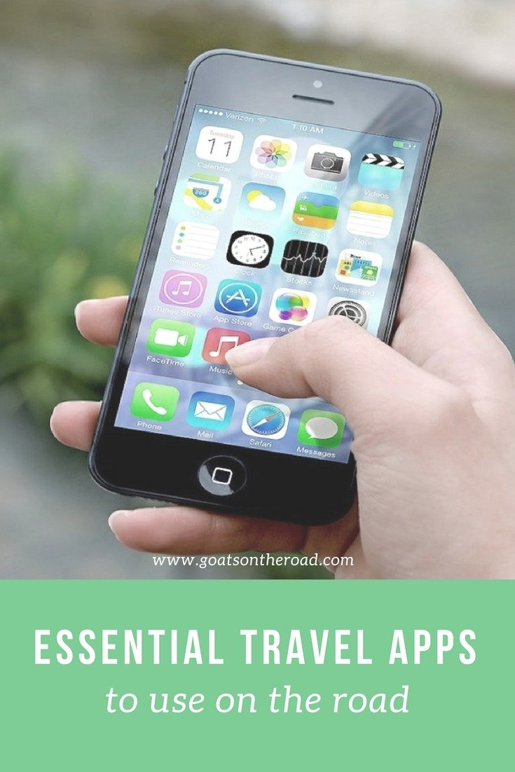 Essential Travel Apps to Use on the Road