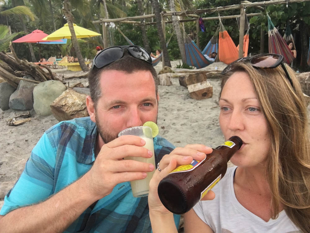 costeño beach Colombia travel