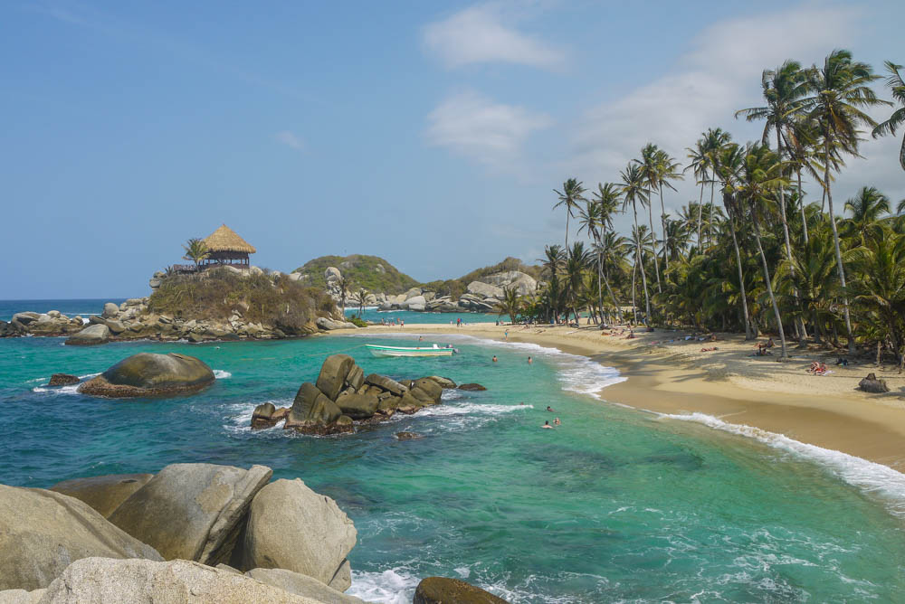 Costeño Beach Colombia Travel Tayrona National Park