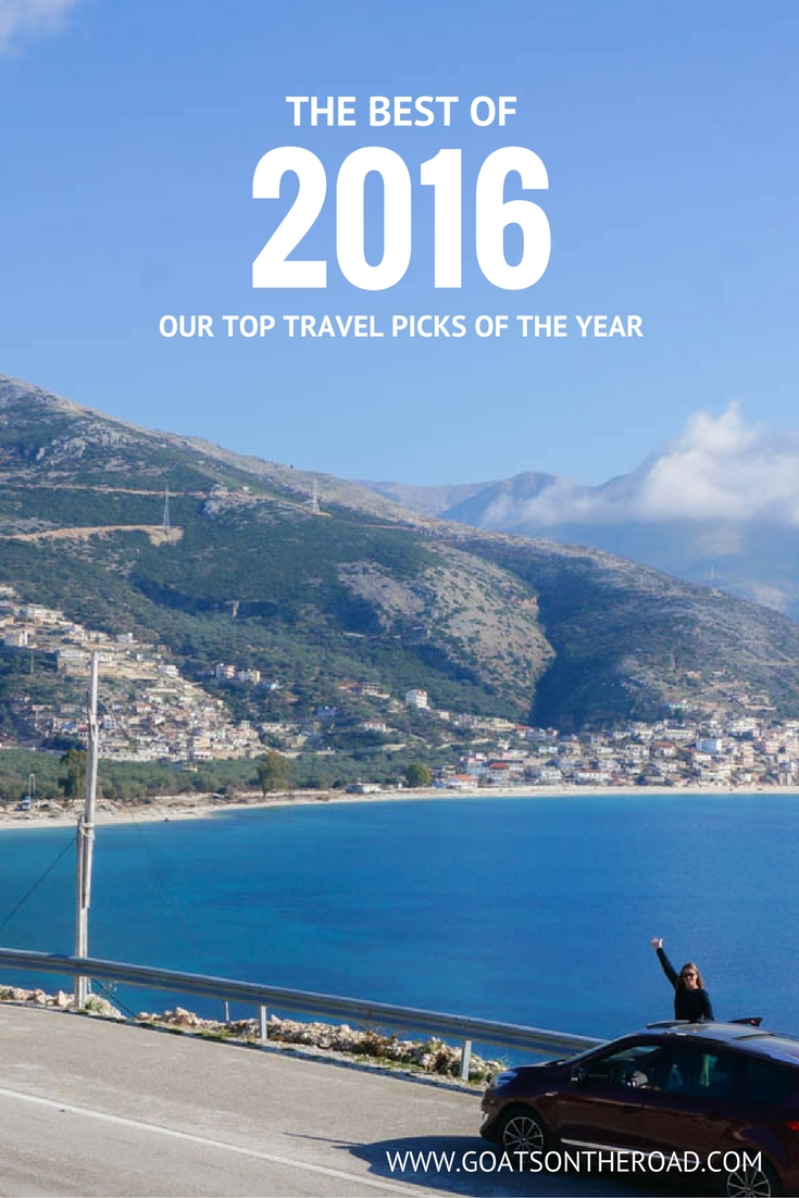 The Best of 2016 - Our Top Travel Picks of The Year