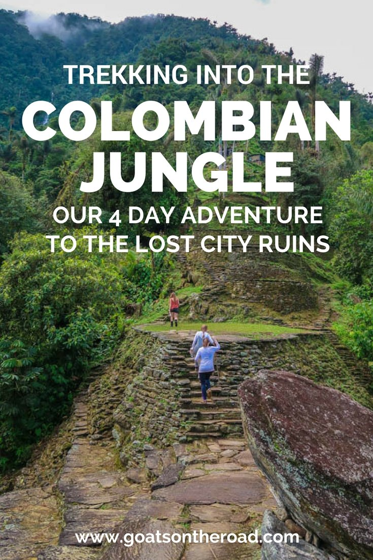 Trekking Into the Colombian Jungle- Our 4 Day Adventure to The Lost City Ruins (1)