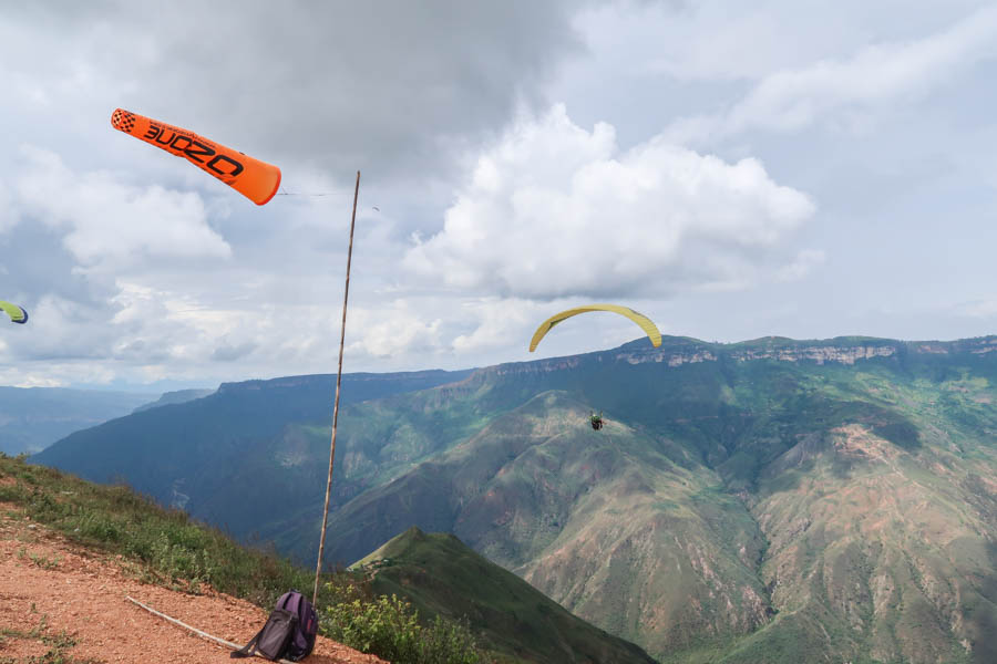 travel to san gil paragliding