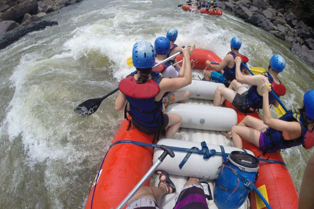 things to do in San Gil Colombia rafting