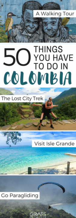 50 Things You Have To Do In Colombia