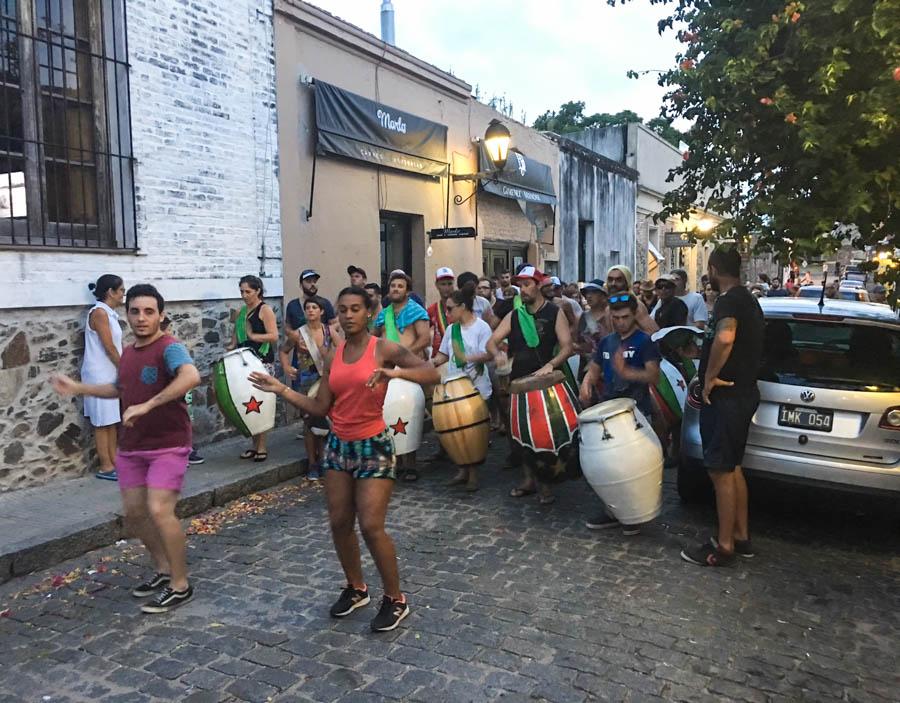 candombe dancing in colonia uruguay