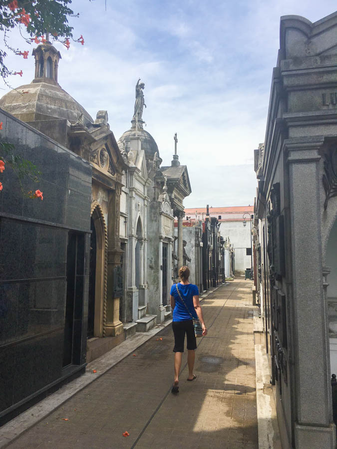 living in buenos aires recoleta cemetery
