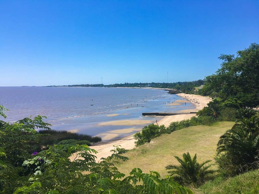 travel to colonia uruguay swim in the river