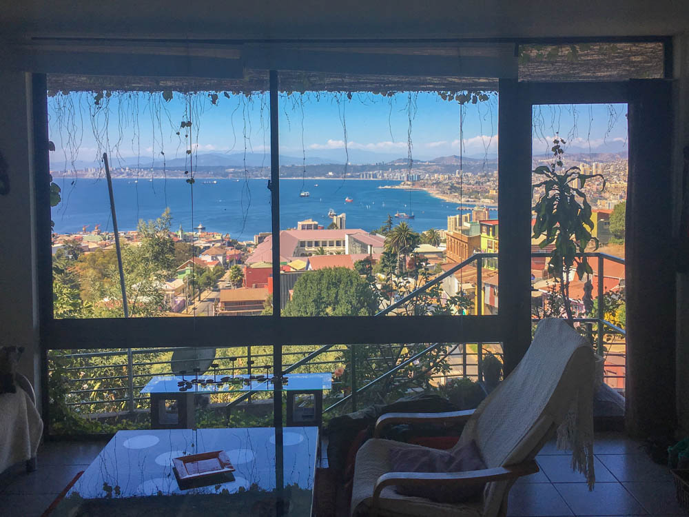 living in valparaiso chile renting an apartment