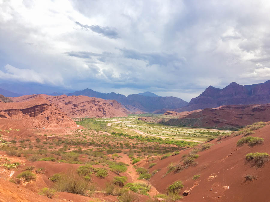 travelling by car from salta to cafayate argentina road trip