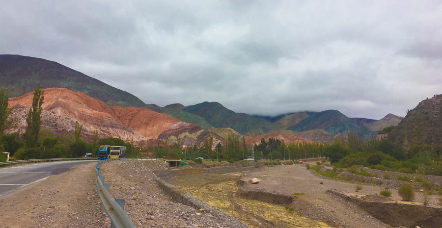 travel from tilcara to purmamarca northewest argentina road trip