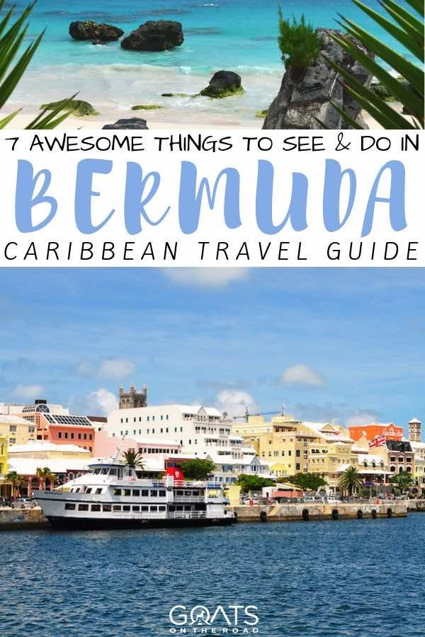 Bermuda with text overlay 7 awesome things to do