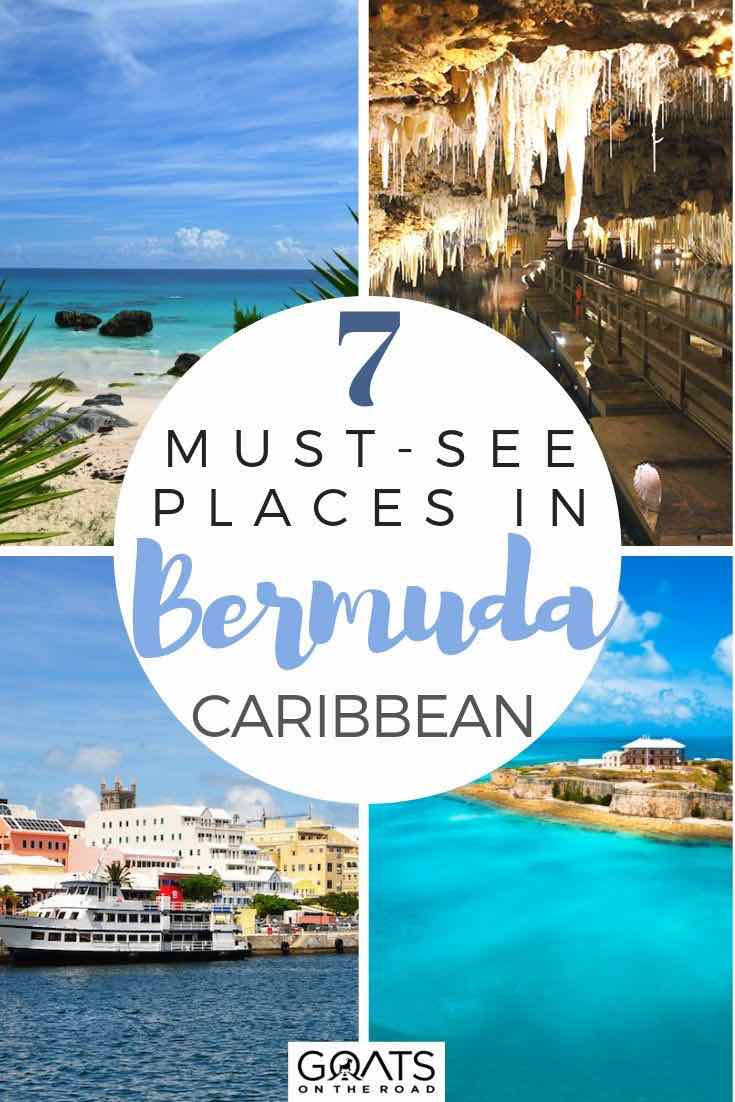 highlights of Bermuda with text overlay 7 must see places in bermuda