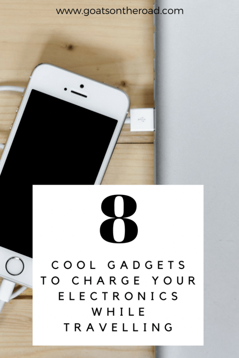 8 Cool Gadgets To Charge Your Electronics While Travelling