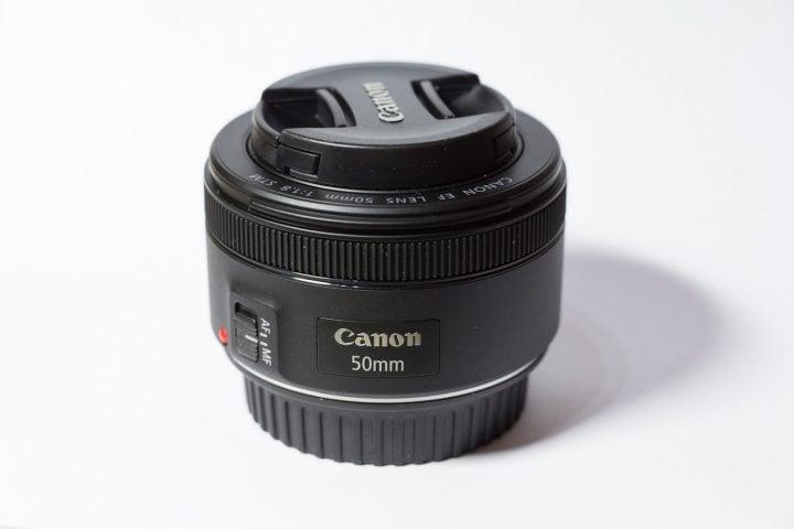 A 50mm prime lens