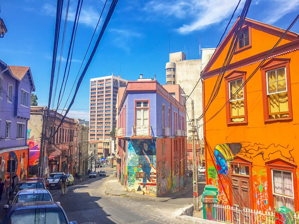 A Guide To Valparaiso Chile S Colorful Street Art