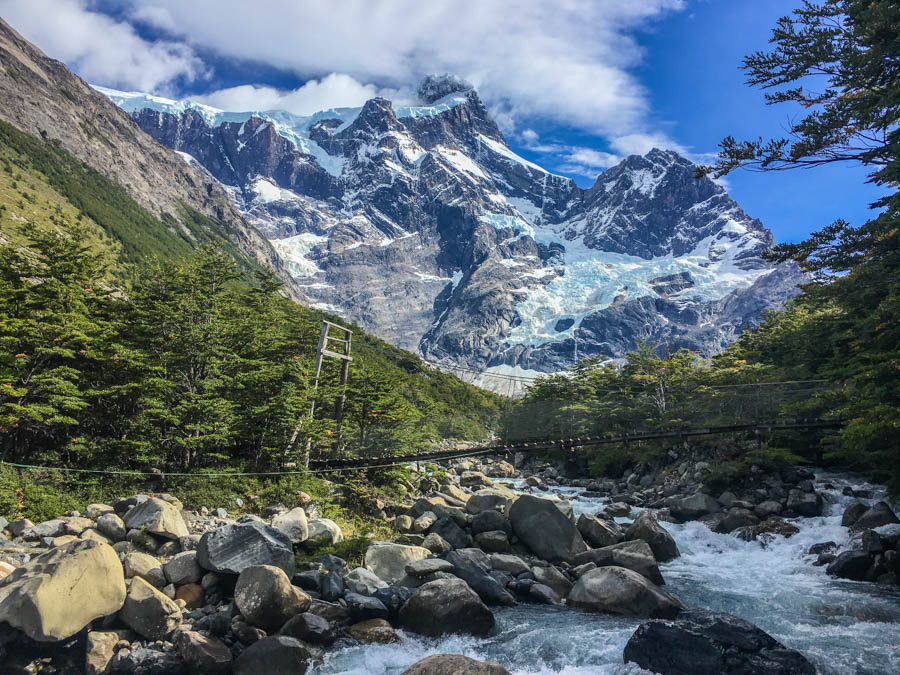 hiking the frances valley O circuit trek torres del paine