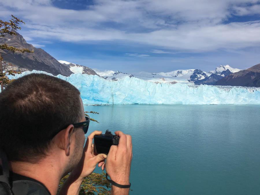 visiting perito moreno glacier el calafate