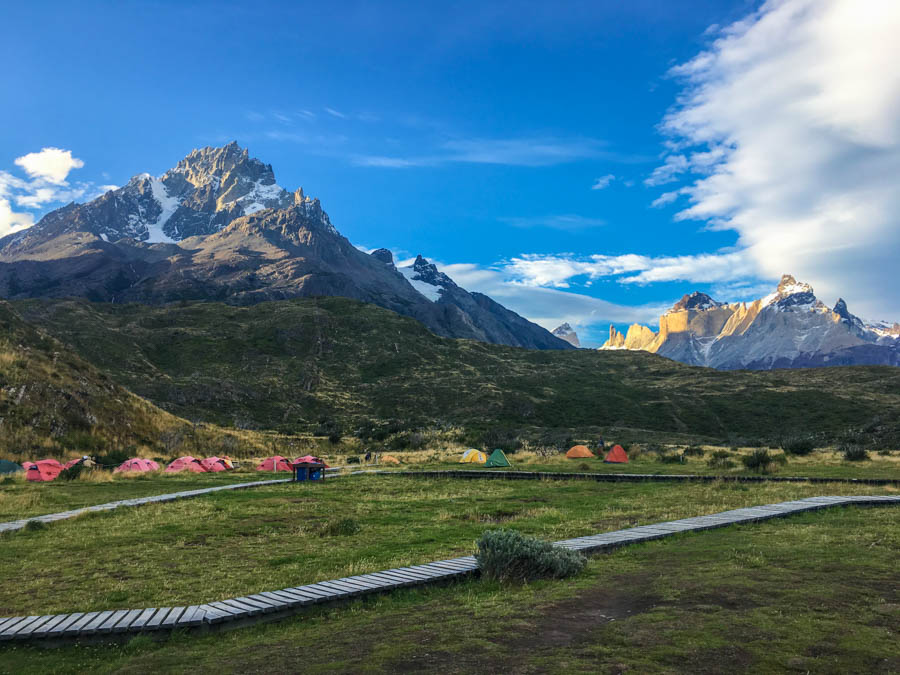 guide to trekking the O circuit in torres del paine