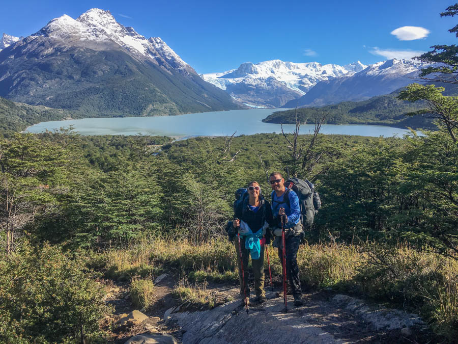 trekking and camping the circuit trail in torres del paine chile