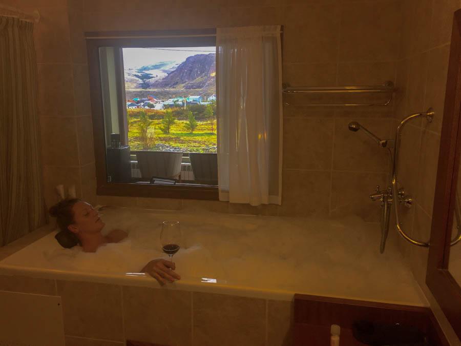 where to stay in el chalten don los cerros hotel