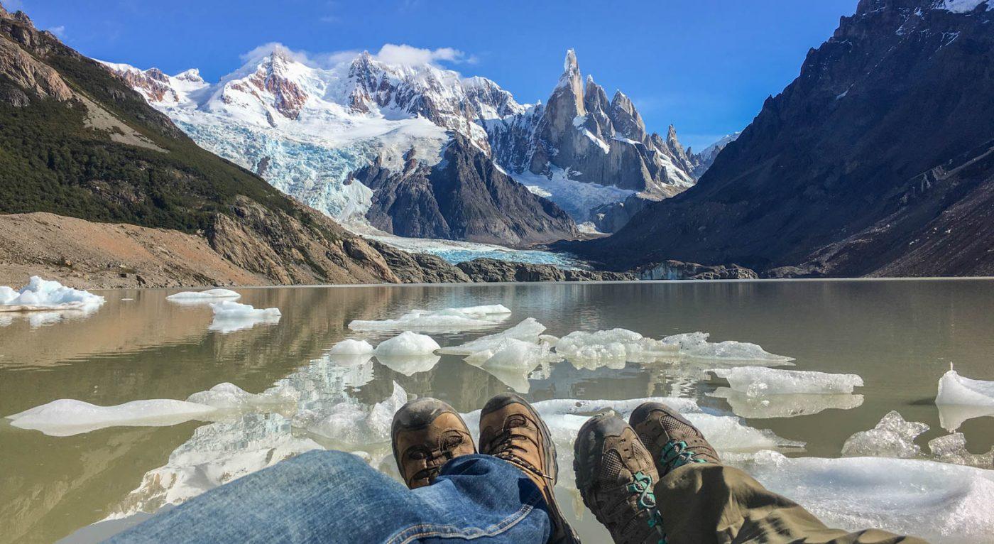 el chalten hiking in argentina