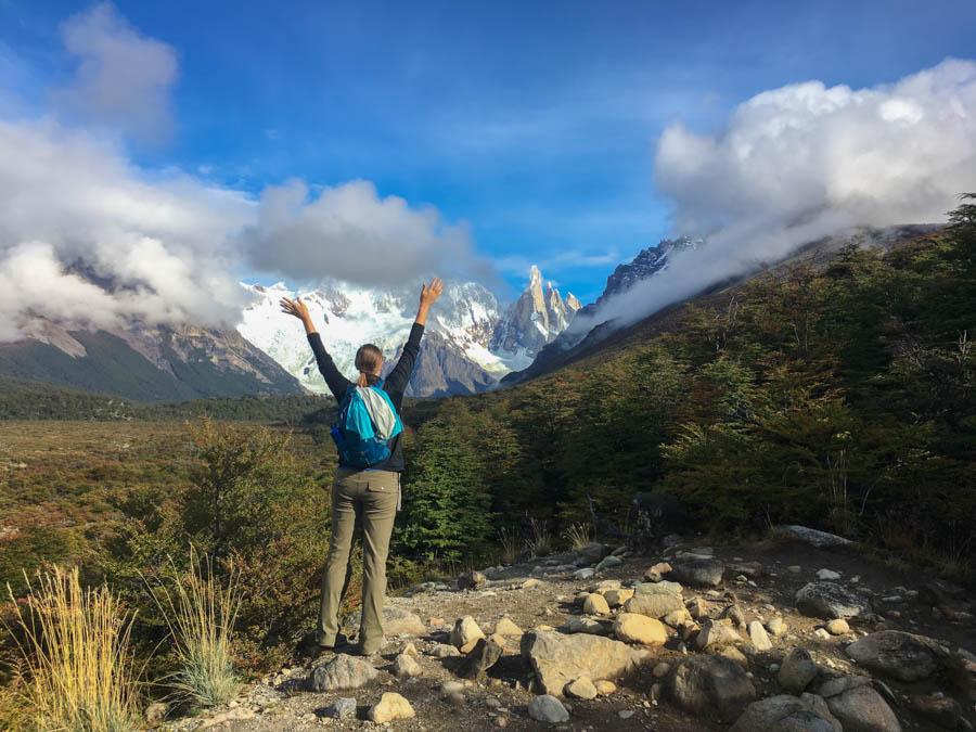 travel to el chalten trekking laguna torre patagonia