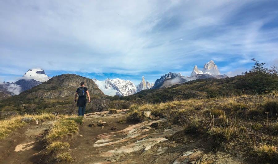 travel to el chalten argentina hiking laguna torre