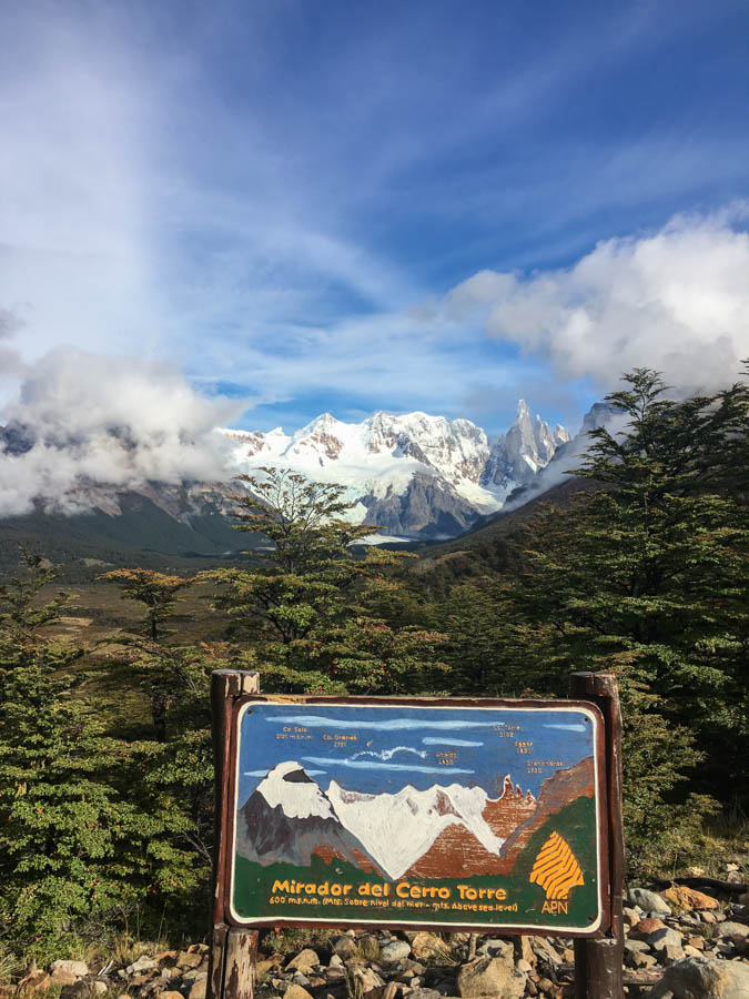 travel to el chalten hiking laguna torre