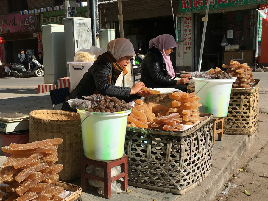 travel to Dacangzhen valley market