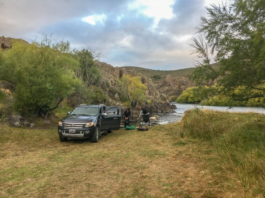 Wilderness Patagonia Fly Fishing in Lake District Argentina Patagonia