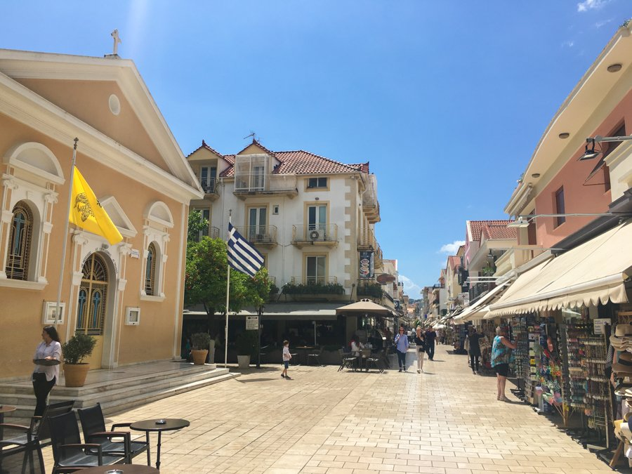 travel to kefalonia argostoli city