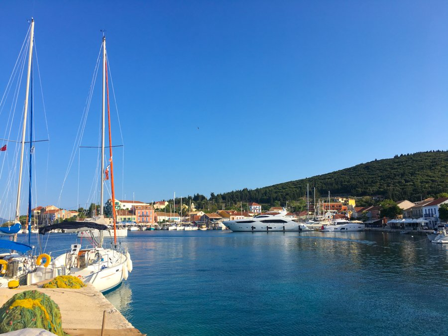 travel to kefalonia greece visit fiskardo