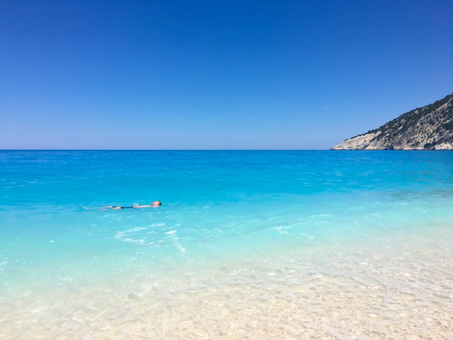 travel to kefalonia greece myrtos beach