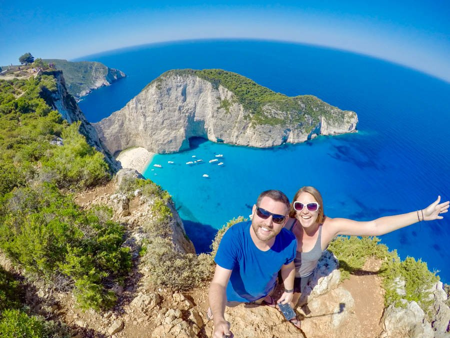 travel to zakynthos greece shipwreck beach