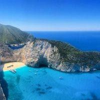travel to zakynthos shipwreck beach