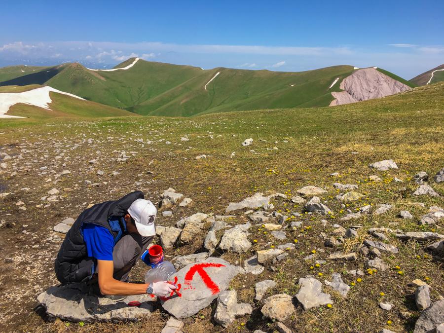 trekking jyrgalan kyrgyzstan keskenkija trek