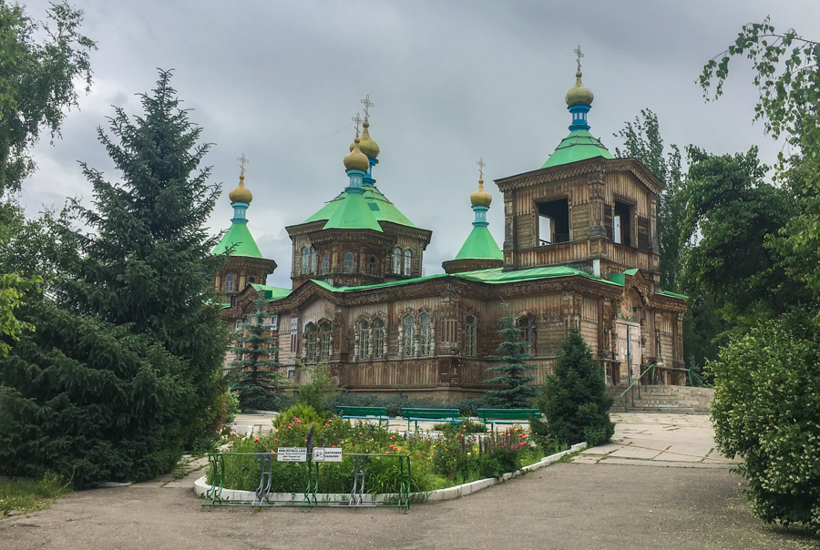 things to do in karakol kyrgyzstan russian orthodox holy trinity church