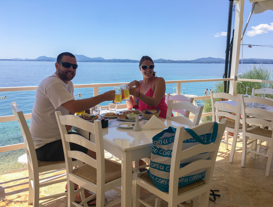 travel to corfu greece where to eat
