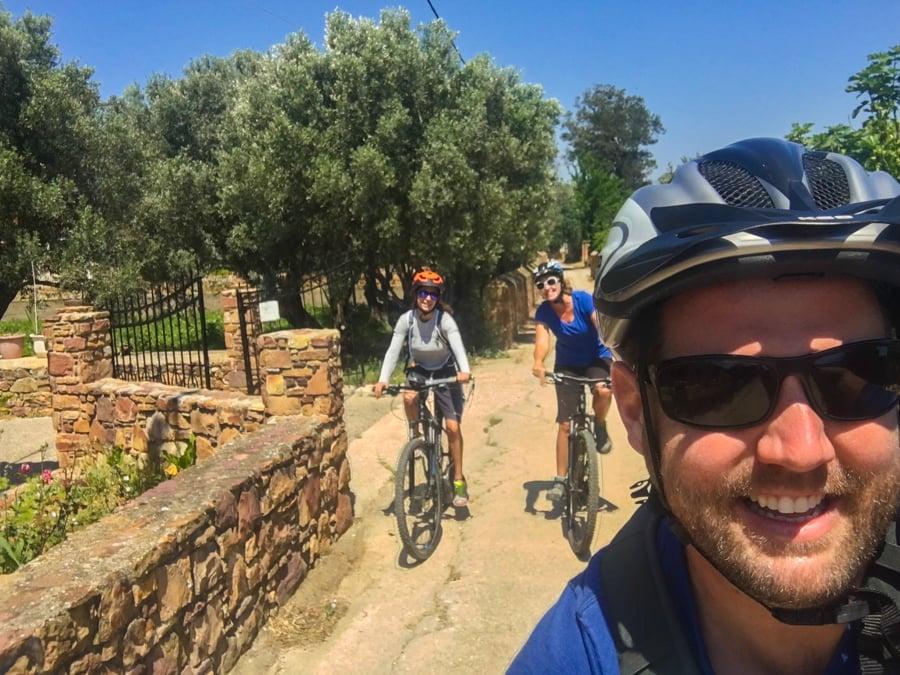 travel to chios greece goat trails mountain biking