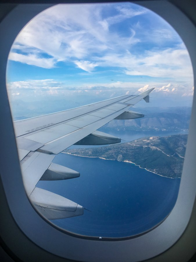 travel to corfu greece flight from kefalonia