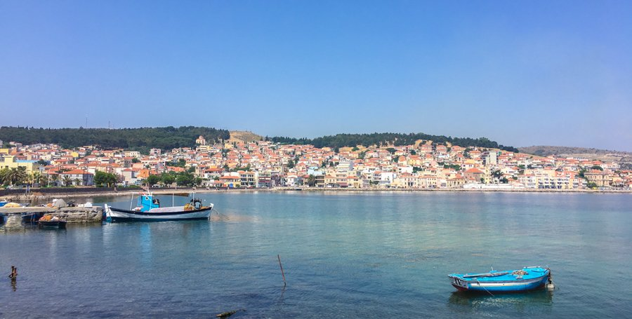 travel to mytilene greece lesvos island