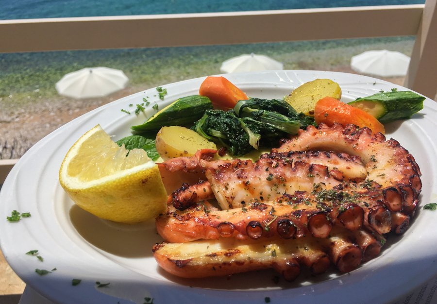 travel to corfu greece what to eat