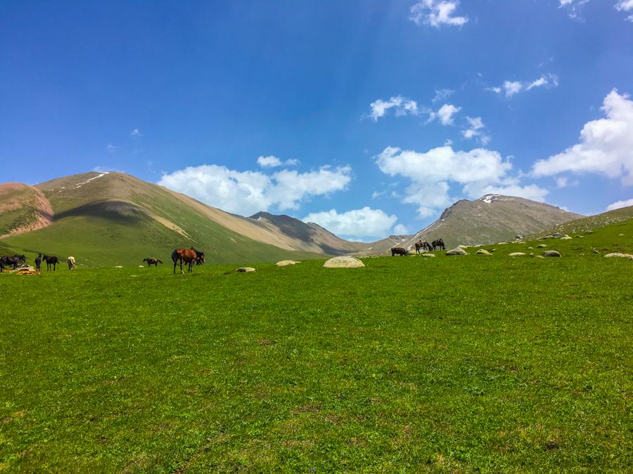 trekking jyrgalan kyrgyzstan keskenkija trail