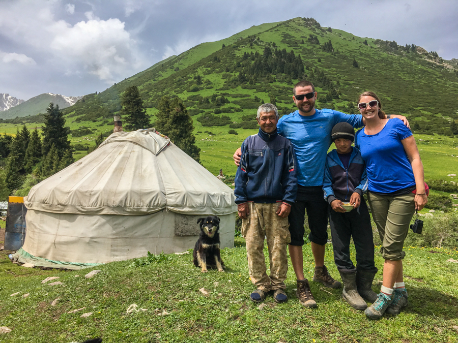 staying in a yurt in kyrgyzstan responsible travel