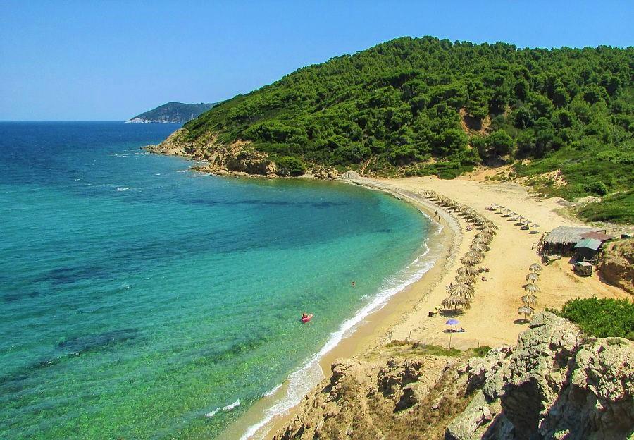 best beaches in greece-koukounaries-Skiathos