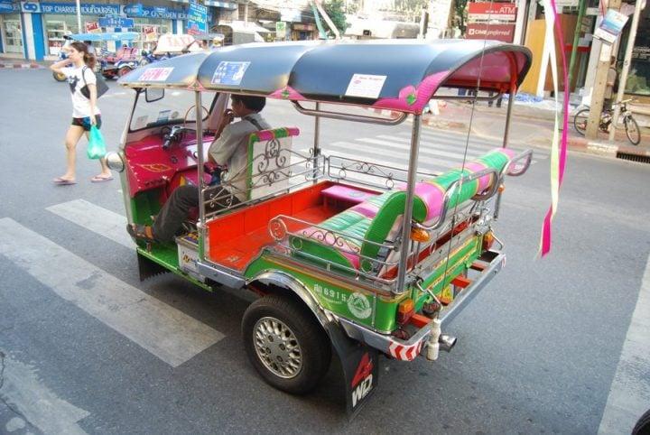 25 Things to Do in Thailand Tuk-Tuk
